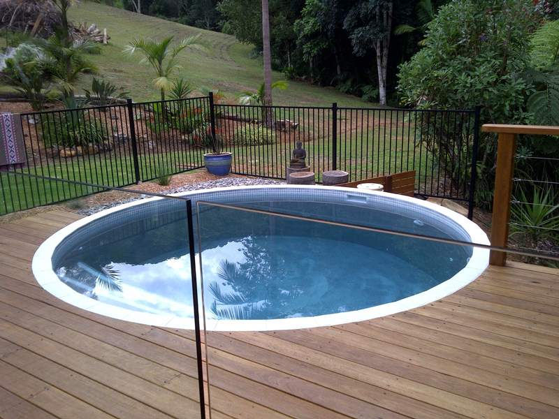 Just for fun our 20 000 litre tank used as a pool - Convert swimming pool to rainwater tank ...